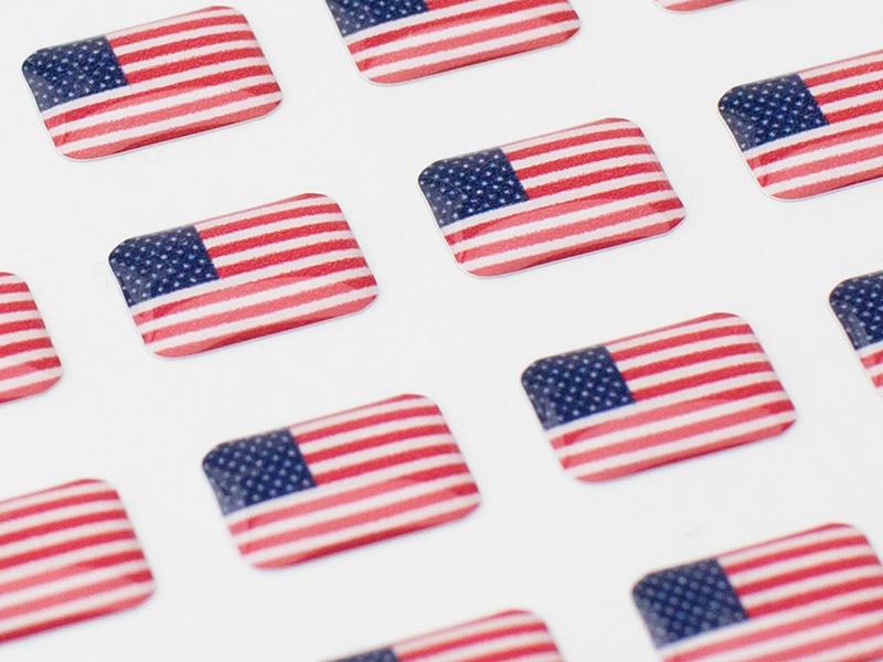 ①国旗(発話可能言語)