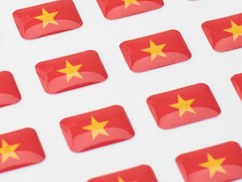 国旗シリーズ ②ベトナム